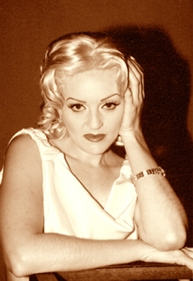 Carole Lombard Look alike celebrity impersonator